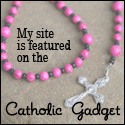 I'm Featured on the Catholic Gadget