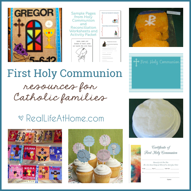 First Holy Communion Resources and Information