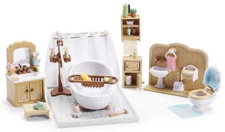 calico critters bathroom