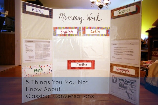 5 Things You May Not Know About Classical Conversations