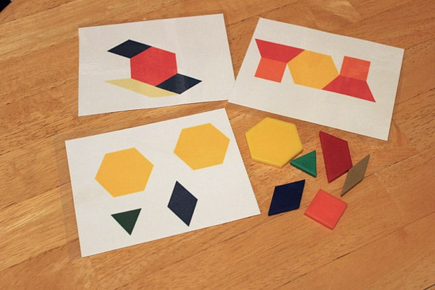 Free Printable Pattern Block Activities