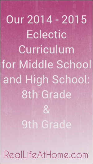 Our Middle and High School Curriculum