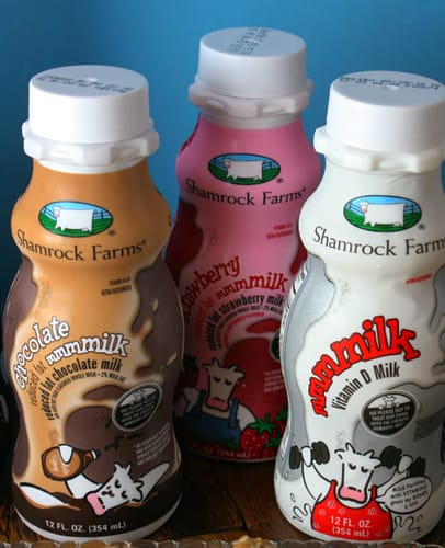 Shamrock Farms milk-on-the-go