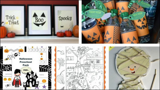 40 Halloween Printables for Kids and Families
