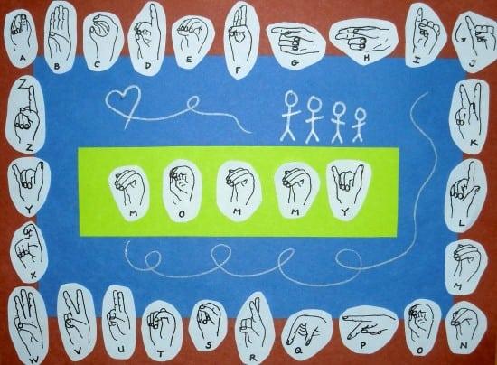 Teaching American Sign Language to Children