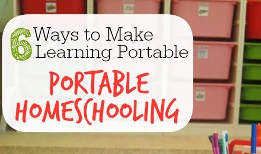portable homeschooling