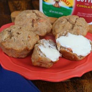 apple nut muffins | RealLifeAtHome.com