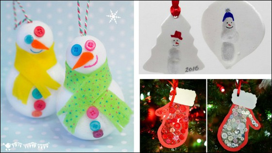 Want some fun Christmas ornament crafts? Visit for Christmas ornament crafts that kids can make. There is something for every skill level.   Real Life at Home