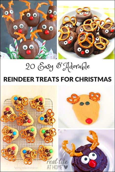 20 Cute and Easy Reindeer Treats