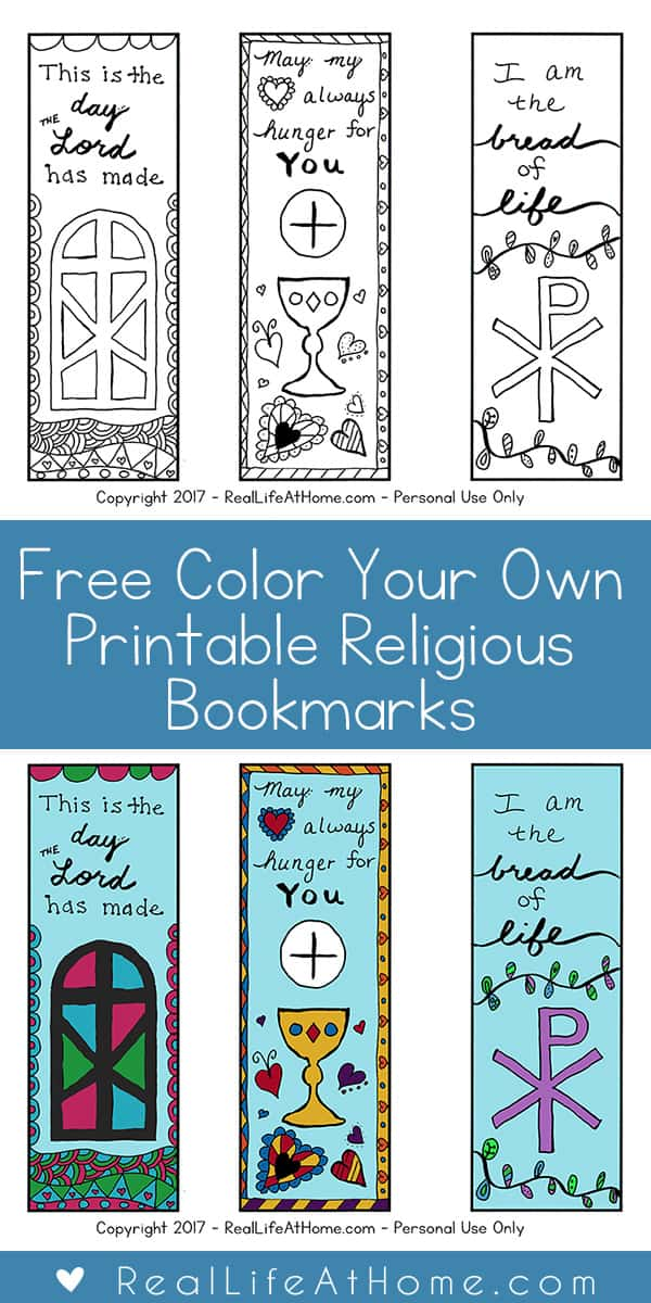 Free Color Your Own Printable Religious
