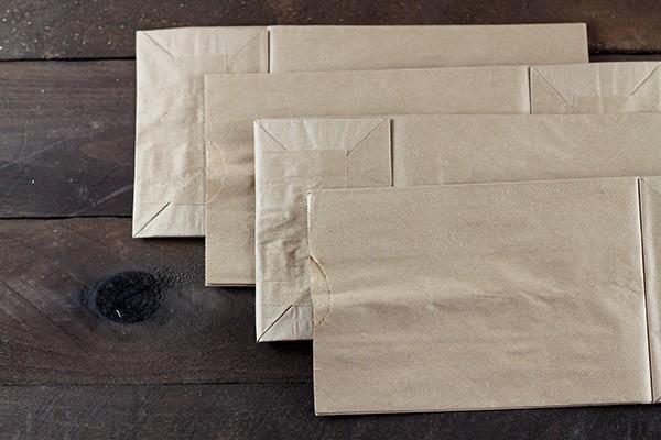 Paper Bag Album Assembly - Step 1