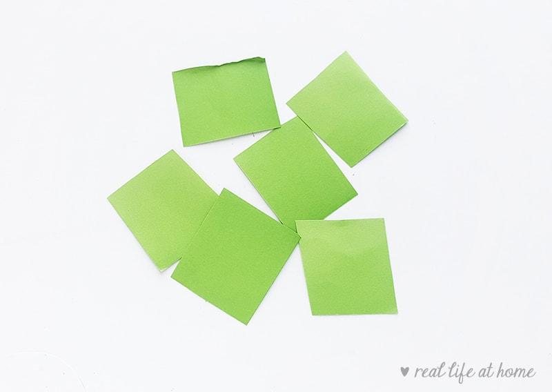 Shamrock Paper Craft - Step 2   Real Life at Home