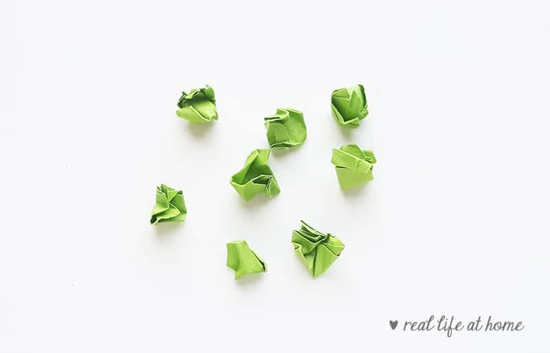 Shamrock Paper Craft - Step 3 | Real Life at Home