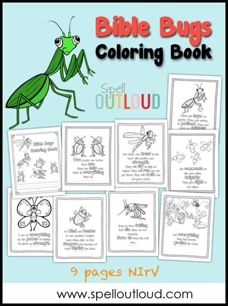 Bible Bugs Coloring Book