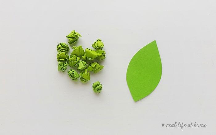 Paper Leaf for Kids
