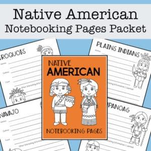 Native American Tribes Mini Report Templates