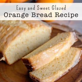 Easy and Sweet Glazed Orange Bread Recipe