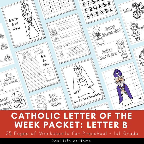 Catholic Letter of the Week Letter B