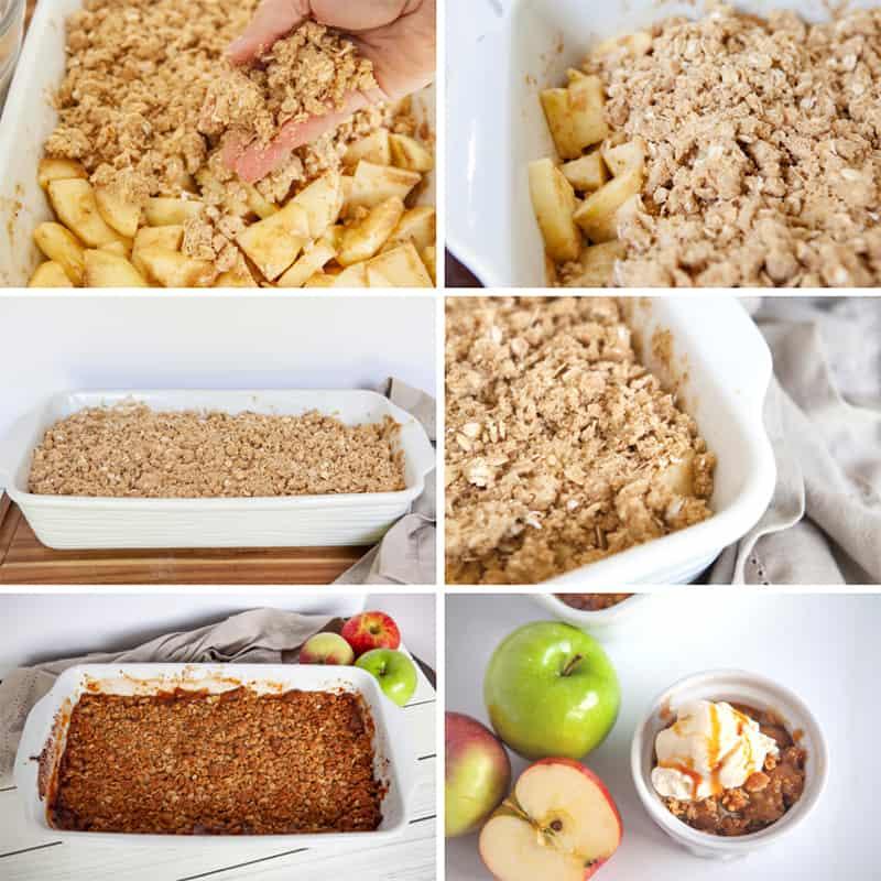 How to Make an Easy Apple Crisp