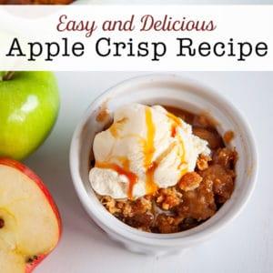 Easy Apple Crisp Recipe