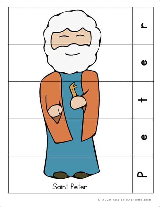 Saint Peter Puzzle Page