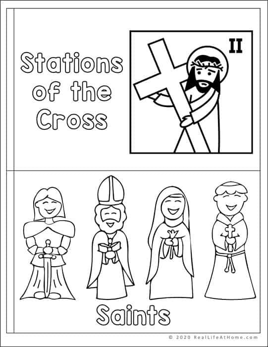 Letter S Catholic Mini Book