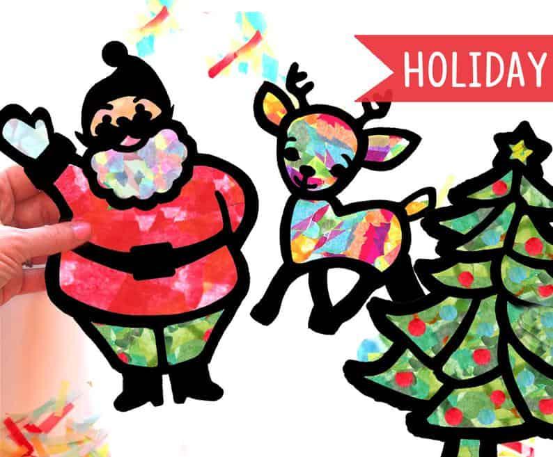 Holiday Suncatcher Craft Kit