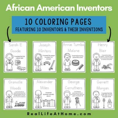 African American Inventors Printables