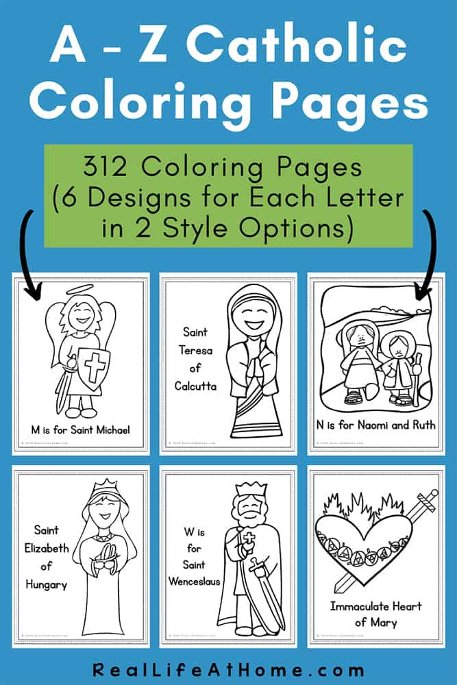 Catholic Coloring Pages (312 Coloring Pages)