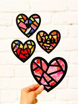 Heart Suncatcher Craft Kit