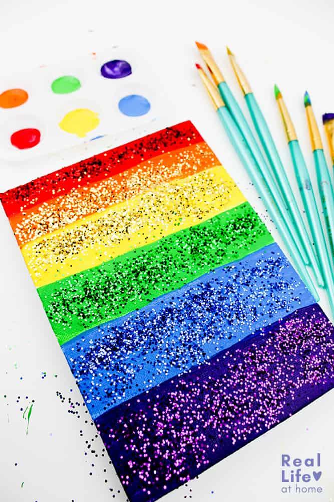 Rainbow Art Craft for Kids