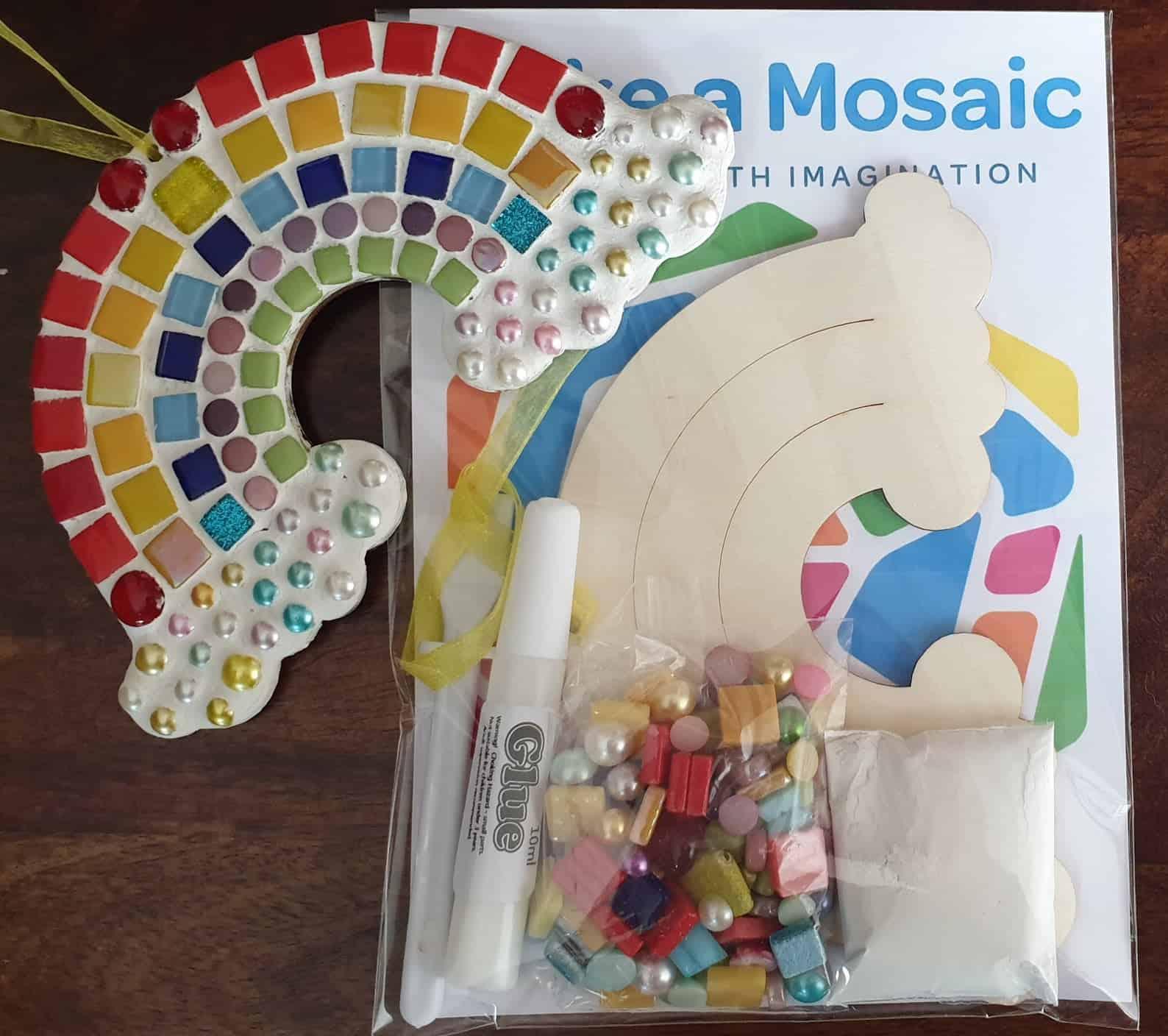 Rainbow Mosaic Craft Kit