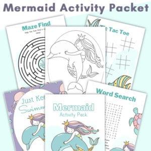 Mermaid Activity Packet