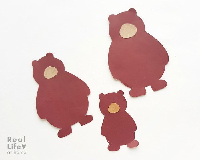 Three Bears Craft (from Goldilocks)