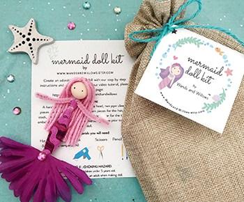 Mermaid Doll Kit