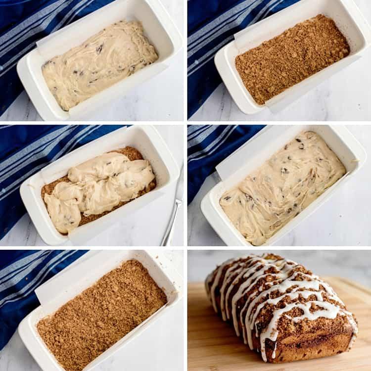 Picture Directions for Cinnamon Raisin Bread Recipe