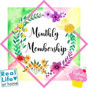 Catholic Icing Monthly Membership Logo
