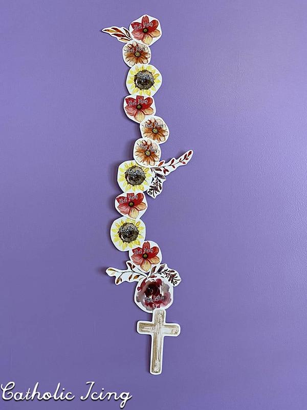 Fall Rosary Printable