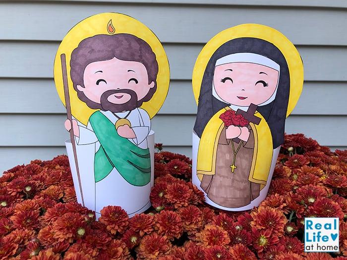 Saint Statue Craft for Kids